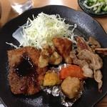 食庵とんとん - 日替わり定食(2013年3月13日)