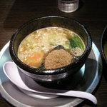 麺屋 卓次朗商店 - つけ麺スープ