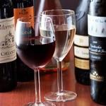 Ciao! 710 - ワインボトル¥1,800~、イタリア、チリ、スペインなど種類豊富!