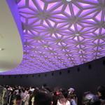 新杵 みちくさ餅 - 通路の天井