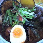17795217 - チキン野菜カレー+しめじトッピング(1180+180円)