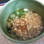 桂ちゃん - 出汁+葱・天カス