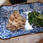 くろ川 - スープ割り用薬味