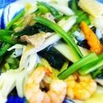東光 - 八宝菜は固定メニュー