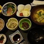 博多石焼 大阪屋 - 定食コーヒー付き880円