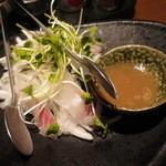 17799385 - 真鯛と新たまねぎのサラダ