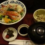 17799516 - 海鮮丼定食コーヒー付き880円