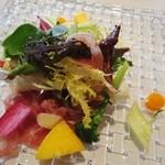 17799731 - 前菜 プロシュートと各種野菜のインサラータ