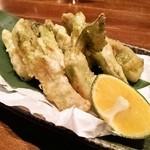 やきもん まはろ - つぼみなの天ぷら