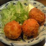 1780317 - タコスボール全景 中にはタコスの挽肉が!味はまんまタコスやでw