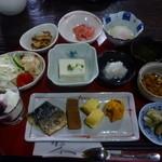 茶旅庵 蓮 - 朝食もこんなに!