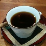 茶旅庵 蓮 - コーヒーも美味しいです。
