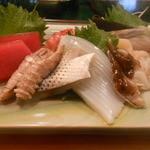 松の鮨 - 料理写真:みずみずしくて美味しい刺身盛合せ