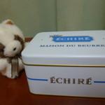エシレ・メゾン デュ ブール - 白い缶はサブレ♪
