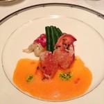 17805361 - 冷製オマール海老と野菜のマリネ