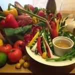 GRATO - 有機野菜のバーニャカウダー♪
