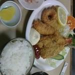すし盛 - ミックスフライ定食