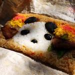上野動物園 西園食堂 - パンダ弁当~!可愛い!
