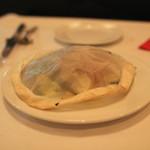 ラターシュ - 季節野菜と穴子の紙包み焼き、燻製風味 (2013/03)