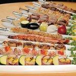 Xen (Roppongi J 内) - フランス風串焼き 野菜やボリュームたっぷりのお肉・魚介をブロシェットで