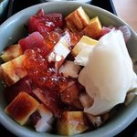 すし京辰 - 海鮮丼(松花堂弁当)