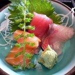 すし京辰 - お刺身(松花堂弁当)