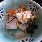 すし京辰 - 魚の酢漬け(松花堂弁当)