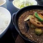 カズサヤ - 旨辛野菜カレー1,000円