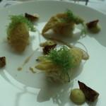 セリーズ by ゴードン・ラムゼイ - 魚料理:的鯛のムニエール ズワイ蟹 海レタス アーティチョーク ブールノワゼット