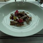 セリーズ by ゴードン・ラムゼイ - 前菜:南瓜と栗のアニョロッティ セップ茸 ヘーゼルナッツとザクロビネグレット