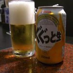 1782195 - 韓国ビール。なぜか日本語。