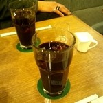 kafeeikokuya - アイスコーヒー☆530円☆1度だけお代わり可(2013/3)