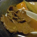 そば処寿庵 - タンパクな味わいはカレー蕎麦に合います