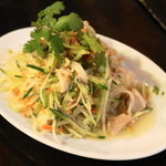 チョップスティックス - 2013.3 青パパイヤと蒸し鶏のサラダ(630円)