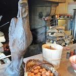 ラ・メール・プラール - かまどと薪と卵