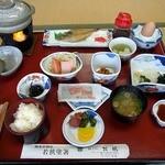 松風 - 朝食です。