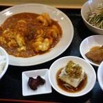 中國旬彩 喜千 - エビチリランチ