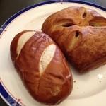 カッセルカフェ  - ラウゲンと木苺デニッシュ