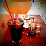 ニューベリー カフェ - アイスコーヒー(500円)
