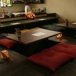 iRORi - 掘りのテーブル席