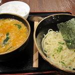 塩らー麺 本丸亭 - 夏季限定スタミナ塩つけ麺950円