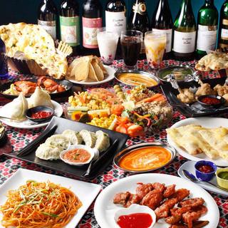 インド料理もネパール料理も楽しめます!
