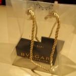 ブルガリ イル・カフェ - 可愛い透明の手提げ袋