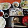 海辺のほったて小屋 - 料理写真:かき定食…2150円