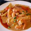 ビストロ・BaBa - 料理写真:平目のピカタ、小エビのクリームソース