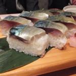 だいみょう掃部 - サバ寿司
