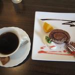メディーナ - ベリーショコラのロールケーキ