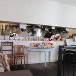 メディーナ - お席から見えるキッチン