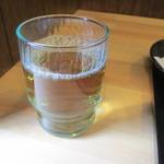 天つる - 冷たいお茶も用意