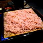 17844788 - 季節の変わり蕎麦  この日は「さくら蕎麦」でした